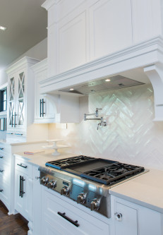 homes by chris custom kitchen