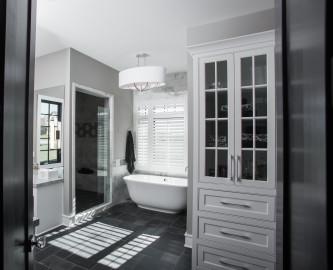 luxury custom homes kansas city bathroom