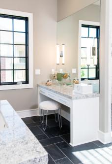 luxury bathroom custom homes kansas city
