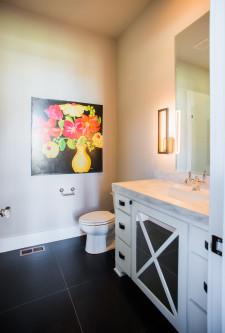 custom homes kansas city bathroom