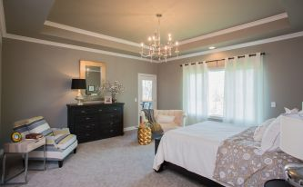 Hadley Custom Home Bedroom