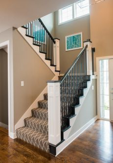 Hadley Custom Home Stairs