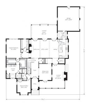 Laura Claire first floor plan